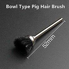 Citop 10pcs/Set 3mm Shank Pig Hair Brush Bur