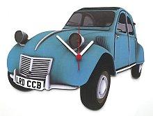 Citroen 2CV Clock - Blue - CV5