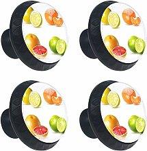 Citrus Fruits Set with Lemon Drawer Pull Handle