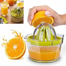Citrus Juicer(2018 Upgrade 4 in 1), Orange Manual