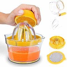 Citrus Lemon Orange Juicer Manual Hand Squeezer 4