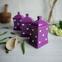 City to Cottage® Purple and White | Polka Dot |