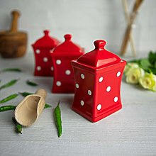 City to Cottage® Red and White | Polka Dot |