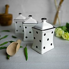 City to Cottage® White and Black| Polka Dot |