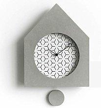 cjcaijun Wall clock 280mm * 360mm * 36m Minimalist