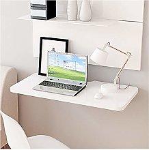 CJCJ Wall-Mounted Folding Computer Desk,