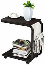 CJH Soges Mobile Desk Computer Desk 51X30Cm Corner