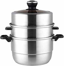 CJTMY 3-Layer Stainless Steel Steamer Pot for