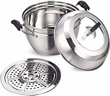 CJTMY Stainless Steel Steamer Pot for Cooking Soup