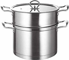 CJTMY Stainless Steel Steamer with lid Cooker