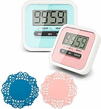 CKANDAY 2 Pack Digital Kitchen Timer with 2 Mini