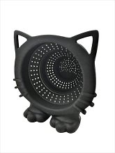CKB LTD® Black CAT Meow Collapsible TEA STRAINER