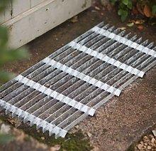 CKB LTD® Metal Grill Galvanised Steel Doormat