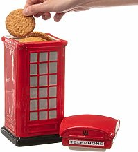 CKB LTD Novelty Telephone Box Biscuit Tin Cookie