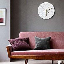 Ckssyao Wall clock Modern and minimalist