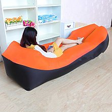 CKY Camping Inflatable Sofa Lazy Bag Sleeping Bag