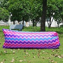 CKY Inflatable lazy sleeping bag portable folding
