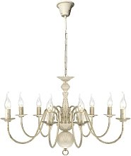 Clack 8-Light Candle Style Chandelier by Lily