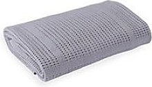 Clair De Lune Cellular Cot Bed Blanket - Grey