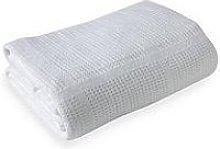 Clair De Lune Cellular Cot Bed Blanket - White