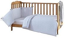 Clair De Lune Stars &Amp; Stripes Cot Bed Bedding