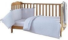 Clair De Lune Stars &Amp; Stripes Cot Bed Bedding