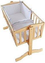 Clair De Lune Stars & Stripes Crib Bedding