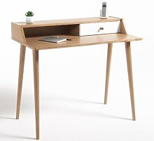 Clairoy Scandi-Style 1 Drawer Desk by La Redoute