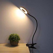 Clamp LED Desk Lamp Clip On Book Light