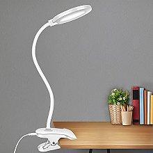 Clamp LED Desk Lamp Gooseneck Table Lamp,3