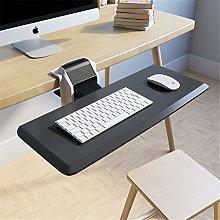 Clamp on Keyboard Tray under Desk Sliding, Drawer