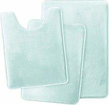 Clara Clark Memory Foam Bath Mat Ultra Soft Non