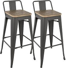 Claremont 76cm Bar Stool Borough Wharf