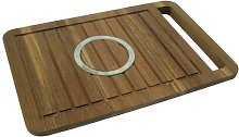 Clarion 46cm Carving Board with Ring August Grove