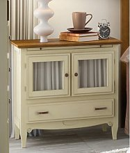 Clarisse 1 Drawer Bedside Table August Grove