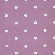 Clarke and Clarke Dotty Mauve Curtain Upholstery
