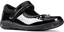 Clarks Kid Sea Shimmer Mary Jane School Shoe -