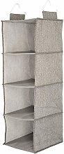 Clas Ohlson ® Shelf Hanging Organiser 4 Shelf -