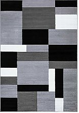 Clasic Home Modern Grey Area Rugs Large Small