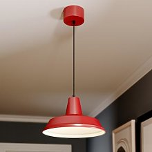 Class hanging light, red/white