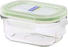 Classic 0.15L Rectangular Glass Food Container