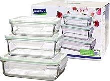 Classic 3-Container Food Storage Set Glasslock