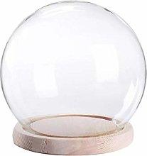 Classic and Chic Decoration Globe Bell Jar Tea Set