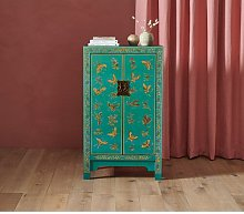 Classic Chinese Highboard The Nine Schools Colour: