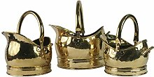 Classic Coal Scuttle Bucket Hod Solid Brass