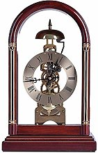 Classic Desk Clock With Hourly Music Chime
