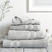 Classic Double Border Towel Bath Sheet, Skye, Bath