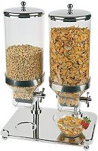 Classic Duo 8 L Cereal Dispenser with 2 Containers