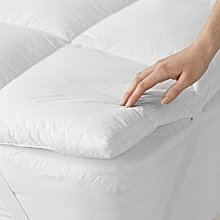 Classic Mattress Topper, No Colour, Single