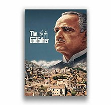 Classic movie gangster godfather poster home
